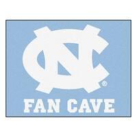 Fanmats University of North Carolina Chapel Hill Blue Nylon Man Cave Allstar Rug (2'8 x 3'8)