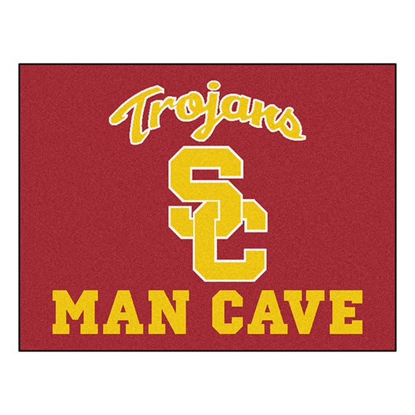 Fanmats University of Southern California Burgundy Nylon Man Cave Allstar Rug (2'8 x 3'8)