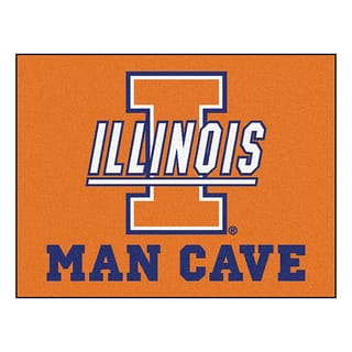 Fanmats University of Illinois Blue Nylon Man Cave Allstar Rug (2'8 x 3'8)|https://ak1.ostkcdn.com/images/products/10036548/P17181945.jpg?impolicy=medium