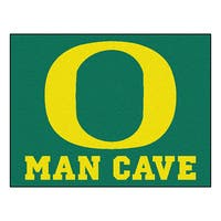 Fanmats University of Oregon Green Nylon Man Cave Allstar Rug (2'8 x 3'8)