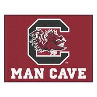 Fanmats University of South Carolina Red Nylon Man Cave Allstar Rug (2'8 x 3'8)