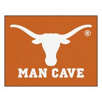 Fanmats University of Texas Orange Nylon Man Cave Allstar Rug (2'8 x 3'8)