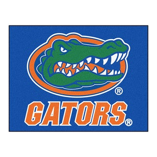 Fanmats Machine-Made University of Florida Blue Nylon Allstar Rug (2'8 x 3'8)
