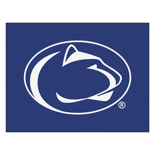 Fanmats Machine-Made Penn State Blue Nylon Allstar Rug (2'8 x 3'8)