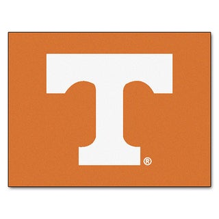 Fanmats Machine-Made University of Tennessee Orange Nylon Allstar Rug (2'8 x 3'8)