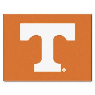 Fanmats Machine-Made University of Tennessee Orange Nylon Allstar Rug (2'8 x 3'8)