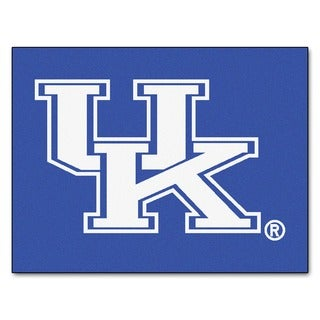 Fanmats University of Kentucky Blue Nylon Allstar Rug (2'8 x 3'8)