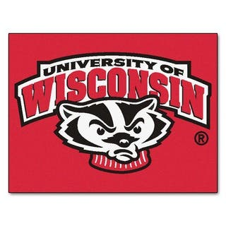 Fanmats University of Wisconsin Red Nylon Allstar Rug (2'8 x 3'8)|https://ak1.ostkcdn.com/images/products/10036608/P17181994.jpg?impolicy=medium