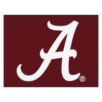 Fanmats University of Alabama Red Nylon Allstar Rug (2'8 x 3'8)