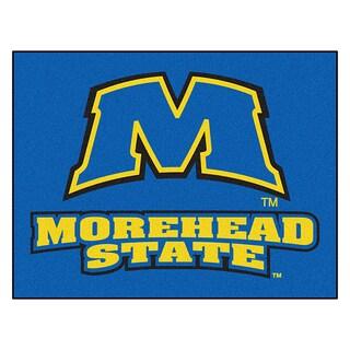 Fanmats Morehead State University Blue Nylon Allstar Rug (2'8 x 3'8)