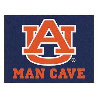 Fanmats Auburn University Blue Nylon Man Cave Allstar Rug (2'8 x 3'8)
