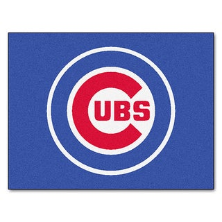 Fanmats Machine-Made Chicago Cubs Blue Nylon Allstar Rug (2'8 x 3'8)