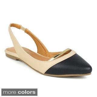 TOI ET MOI Women's Bolognese-01 Pointy-toe flats
