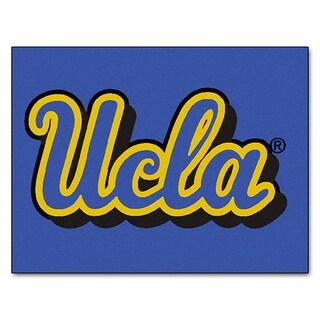 Fanmats Machine-Made UCLA Blue Nylon Allstar Rug (2'8 x 3'8)
