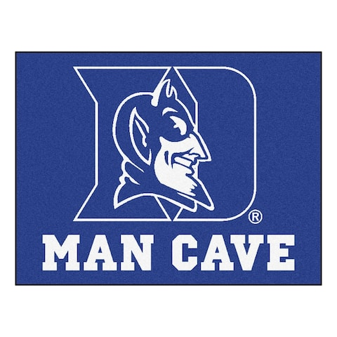 FANMATS Duke University Man Cave All-Star - 2' x 3'