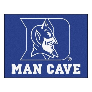Fanmats Duke University Blue Nylon Man Cave Allstar Rug (2'8 x 3'8)