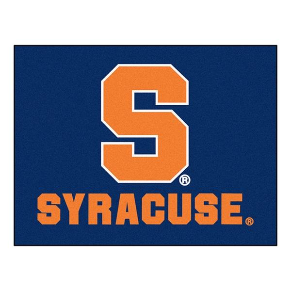 Fanmats Machine-Made Syracuse University Blue Nylon Allstar Rug (2'8 x 3'8)