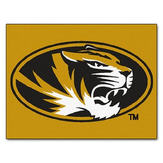 Fanmats Machine-Made University of Missouri Gold Nylon Allstar Rug (2'8 x 3'8)
