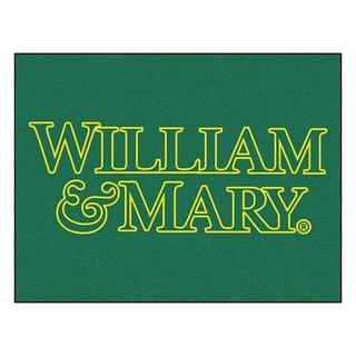 Fanmats Machine-Made College of William & Mary Green Nylon Allstar Rug (2'8 x 3'8)
