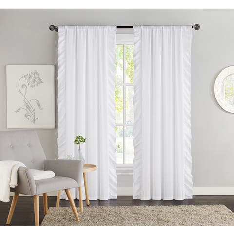 VCNY Amber Blackout Curtain Panel Pair - 40 x 84 - 40 x 84