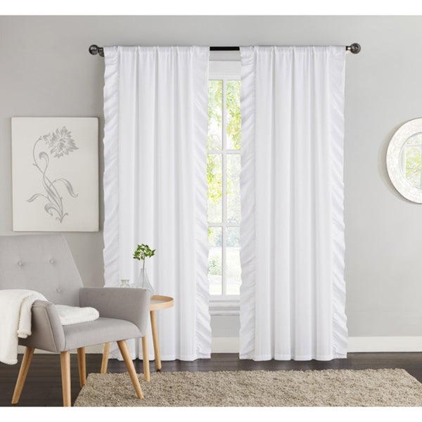 VCNY Amber Blackout Curtain Panel Pair