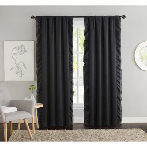 VCNY Amber Blackout Curtain Panel Pair - 40 x 84