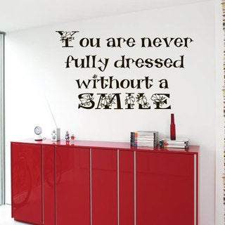 Inspirational Quote Vinyl Sticker Wall Art