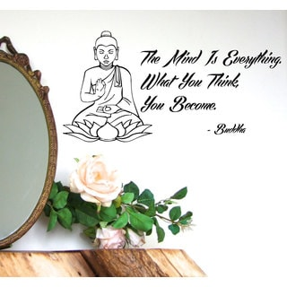 Buddah Quote Vinyl Sticker Wall Art