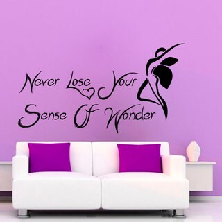 Quote Vinyl Sticker Wall Art