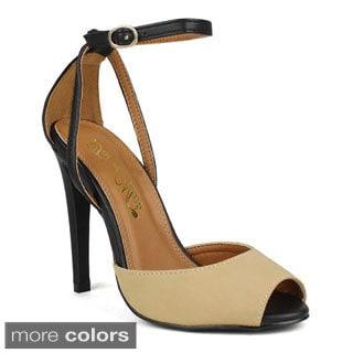 TOI ET MOI Women's Caprese-01 Peep-toe High Heel