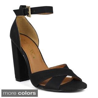 TOI ET MOI Women's Bruschette-02 Ankle Strap High High Heel