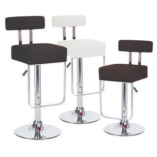 Blok Contemporary Adjustable Barstool (Set of 4)