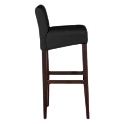 Brooklyn Contemporary Wood/ Faux Leather Barstool (Set of 4)