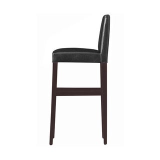 Kendall Contemporary Wood w/ Faux Leather Barstool (Set of 4)