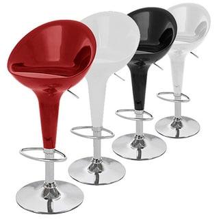 Beta Contemporary Bombo Style Adjustable Barstool