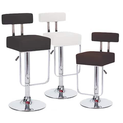 Blok Contemporary Adjustable Barstool