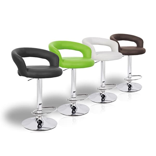 Halo Contemporary Adjustable Barstool. Opens flyout.