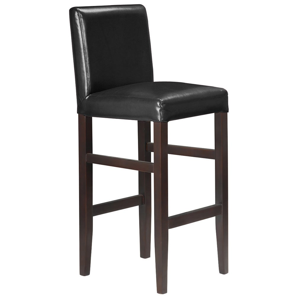 Modern Home Products Kendall Contemporary Wood/ Faux Leat...