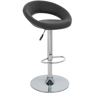 Rho Contemporary Adjustable Barstool