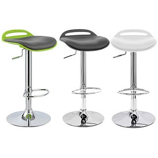 Beckham Contemporary Adjustable Barstool (Set of 2)