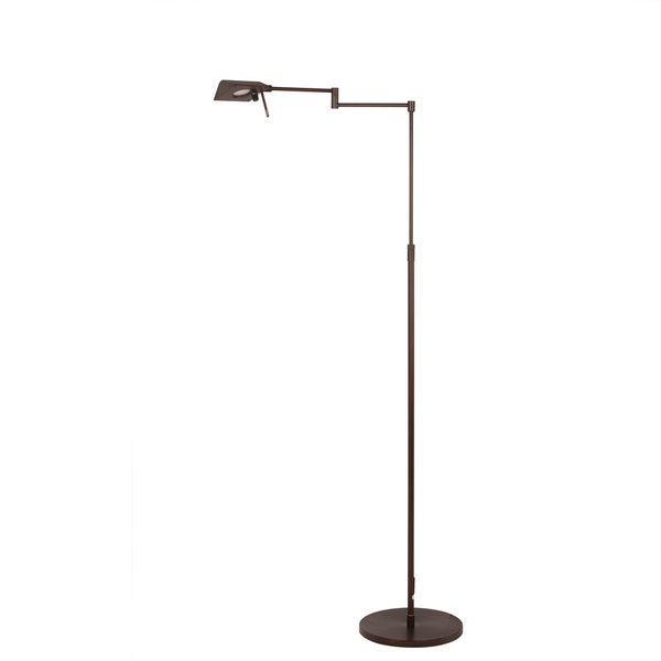 53.75 inch Adjustable Metal Floor Lamp in Oil Rubbed Bronze