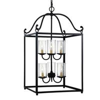 Feiss Declaration 6-light Antique Forged Iron Chandelier - MultiColor