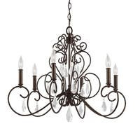 Feiss Angelette 6-light Bonnieaux Bronze Chandelier