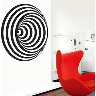 Abstract Circles Unique decor Sticker Vinyl Wall Art