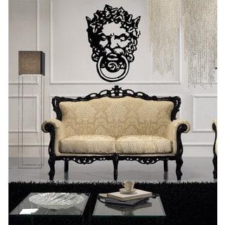 Baroque Architectural Style Ornate Swirl Sticker Vinyl Wall Art