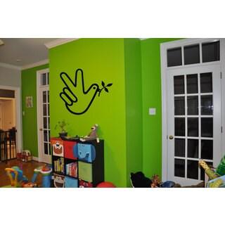 Dove Peace Sign Hippie Sticker Vinyl Wall Art