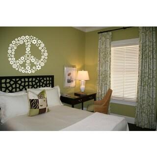 Peace Sign Hippie Sticker Vinyl Wall Art