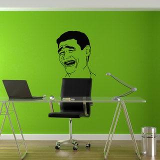 Troll Face Please Meme Funny decal Sticker Vinyl Wall Art