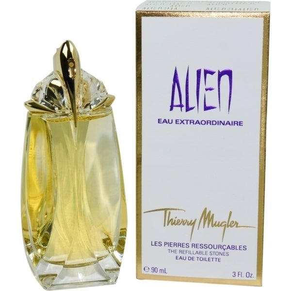 shop thierry mugler alien eau extraordinaire women 39 s refillable 3 ounce eau de toilette spray. Black Bedroom Furniture Sets. Home Design Ideas