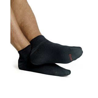 Hanes Men's Cushion Ankle Socks 6-Pack